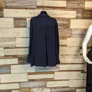 The Limited Tops - The Limited Dark Blue button down blouse 2X